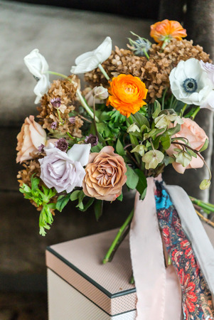 결혼식 꽃다발 스톡 콘텐츠 - 83258415