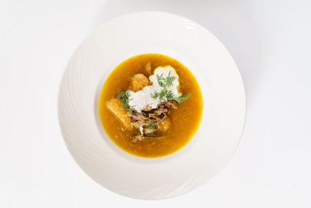 肉のスープ
