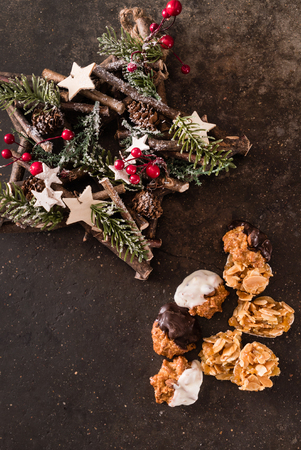 Biscotti di Natale Archivio Fotografico - 83632454