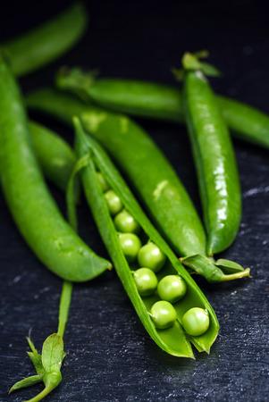 green peas Banco de Imagens