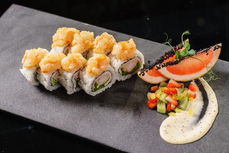 フュージョン寿司 写真素材