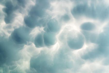 mammatus 구름