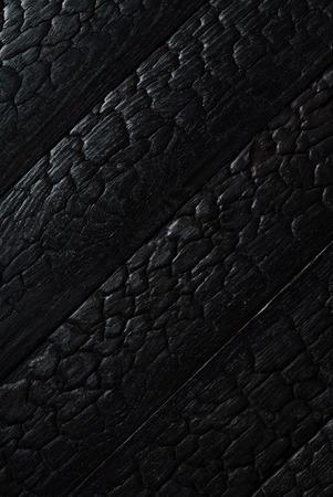 Texture de bois brûlé noir Banque d'images - 84371341