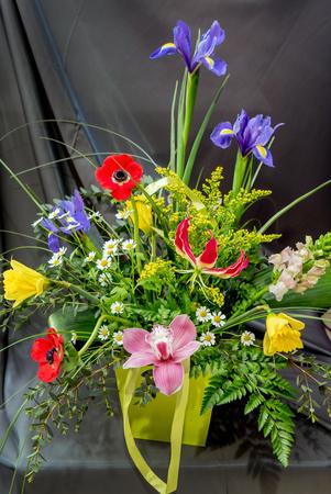 봄 꽃다발