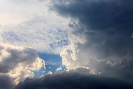 비와 구름
