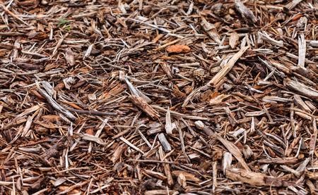 mulch background Stock Photo