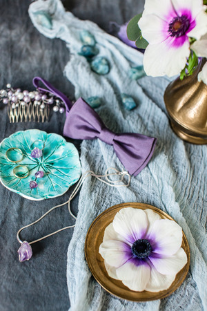 Set trouwkleding en accessoires