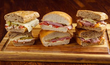 Savoureux sandwich Banque d'images - 85688302