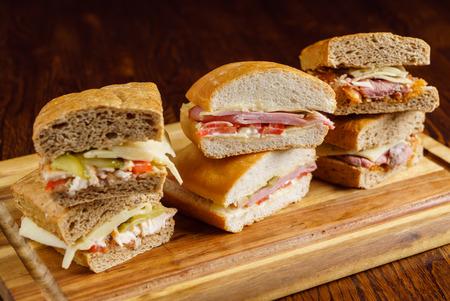 맛있는 샌드위치 스톡 콘텐츠