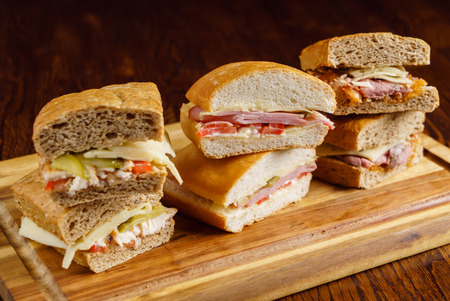 Savoureux sandwich Banque d'images - 85688415