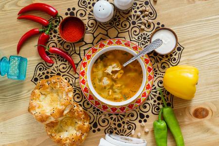 asian soup Stok Fotoğraf