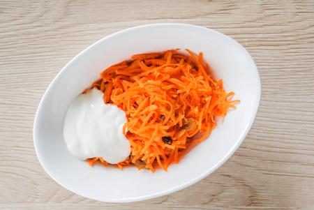 carrot salad Banco de Imagens