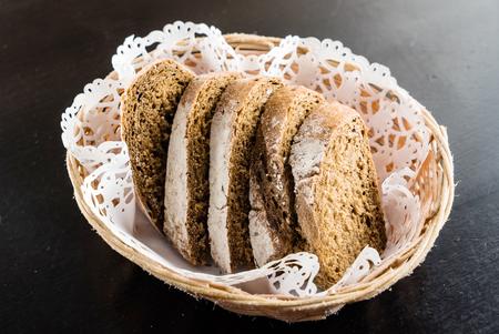 bread in baksket