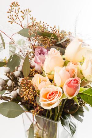 낭만적 인 꽃다발