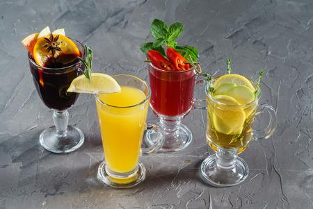 autumn hot drinks Imagens