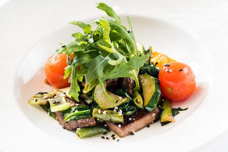 牛肉と野菜