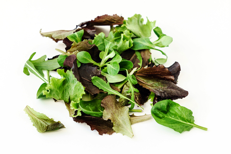 Salatblätter Standard-Bild - 87419314