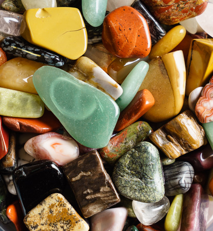 natural mineral stones Stock Photo