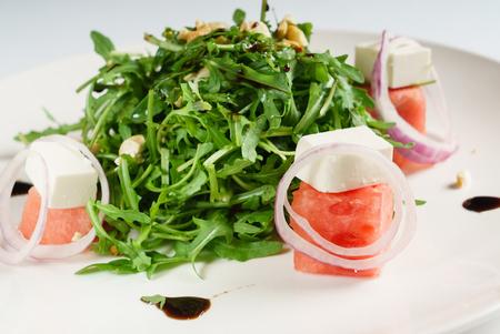 Salade de pastèque Banque d'images - 88089221