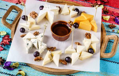 cheese plate Banco de Imagens
