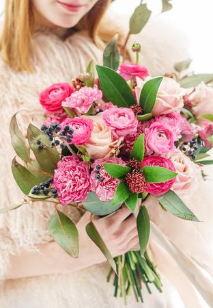 wedding bouquet Stock Photo
