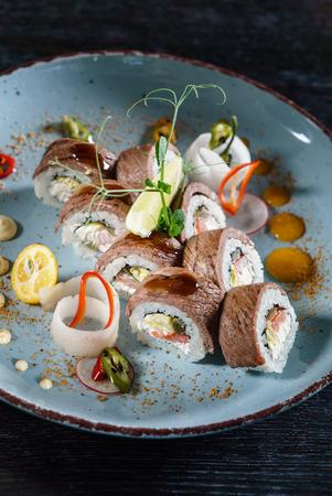 tasty sushi Imagens
