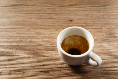 empty cup of coffee 版權商用圖片
