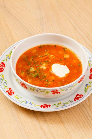 椀のスープ 写真素材