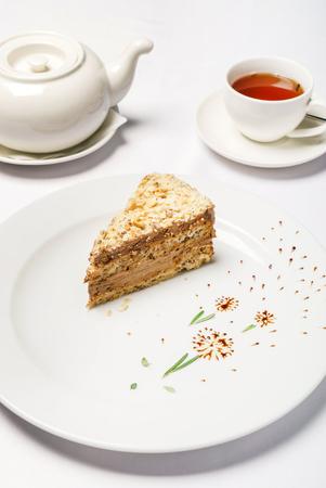 tea with cake 版權商用圖片