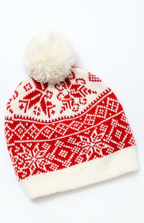 Cappello di lana invernale Archivio Fotografico - 90524200