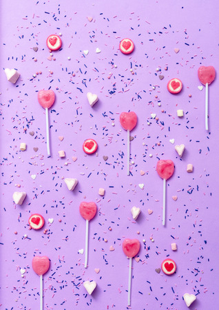 colorful candies and sweets Stock Photo