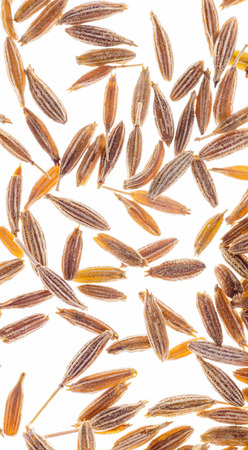 cumin seeds closeup Stock Photo