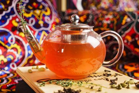 winter tea Imagens