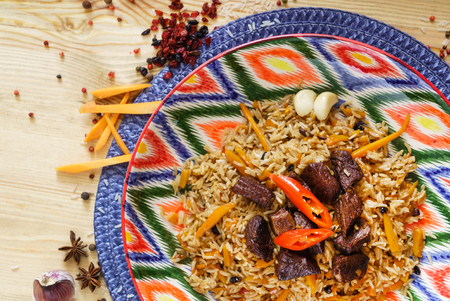 pilaf with mutton