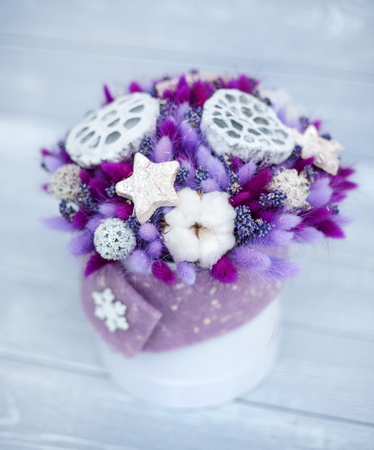 nice winter bouquet