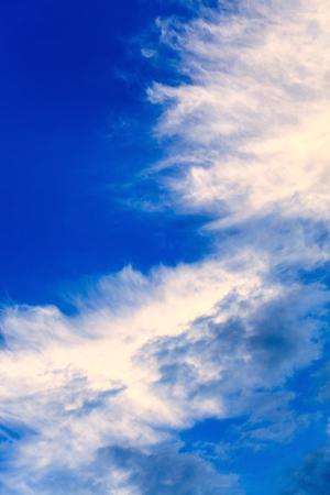 구름이있는 멋진 하늘
