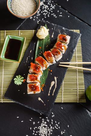 しょうゆの寿司