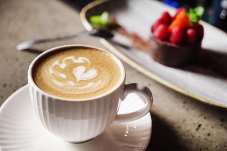 カプチーノのカップ