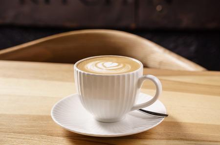 Kopje cappuccino Stockfoto - 92475537