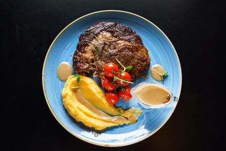 steak with sauce Stock fotó - 92475540