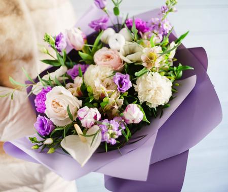 nice flowers bouquet
