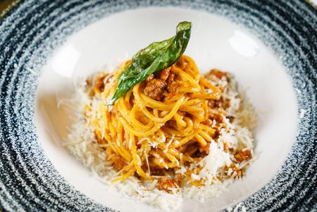 italian pasta with sauce Фото со стока - 93197875