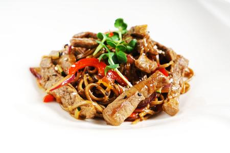 beef with noodles Zdjęcie Seryjne
