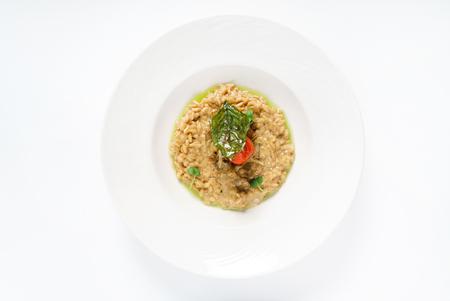 キノコのイタリアンリゾット