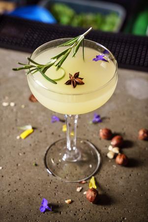 cocktail in de bar