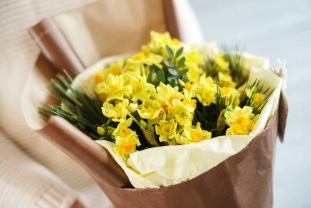 손에 좋은 꽃다발 스톡 콘텐츠