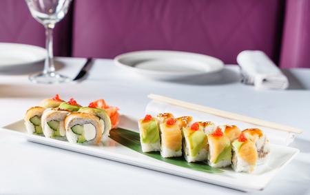 寿司のセット 写真素材