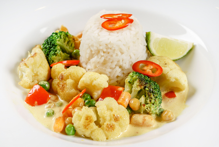 rice with vegetables