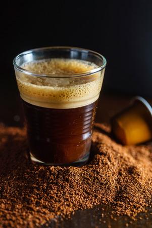 cup of espresso 版權商用圖片