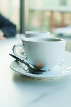 Caffè nella caffetteria Archivio Fotografico - 95562850